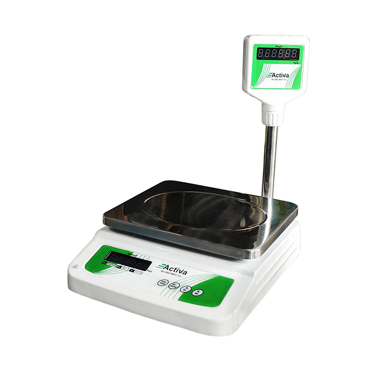 activa digital weighing table top retail scale