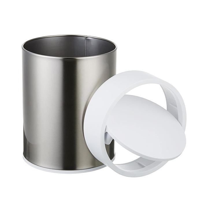 amazonbasics stainless steel dustbin