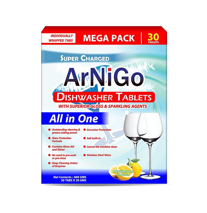 arnigo all in one dishwasher tablets