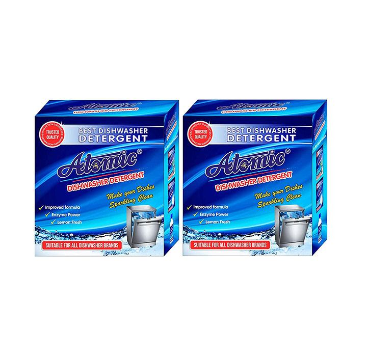 atomic dishwasher detergent powder