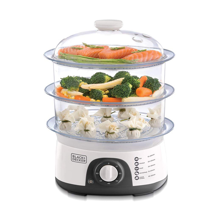 black+decker food steamer