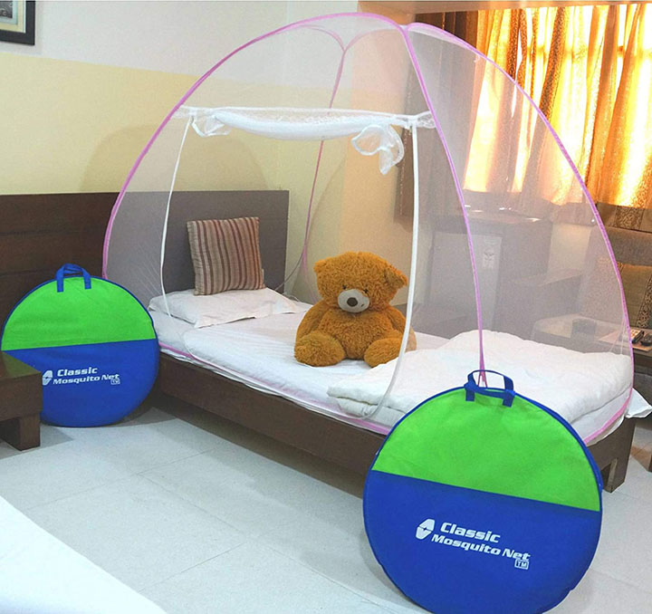 classic foldable mosquito net (single bed)