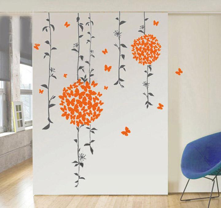 decals design 'butterflies' wall sticker