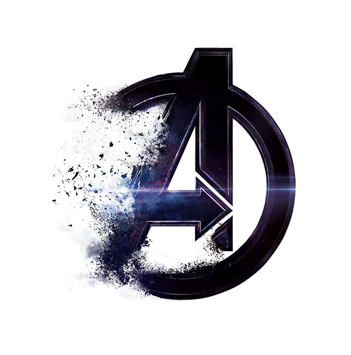decor kafe avengers endgame logo decorative wall sticker