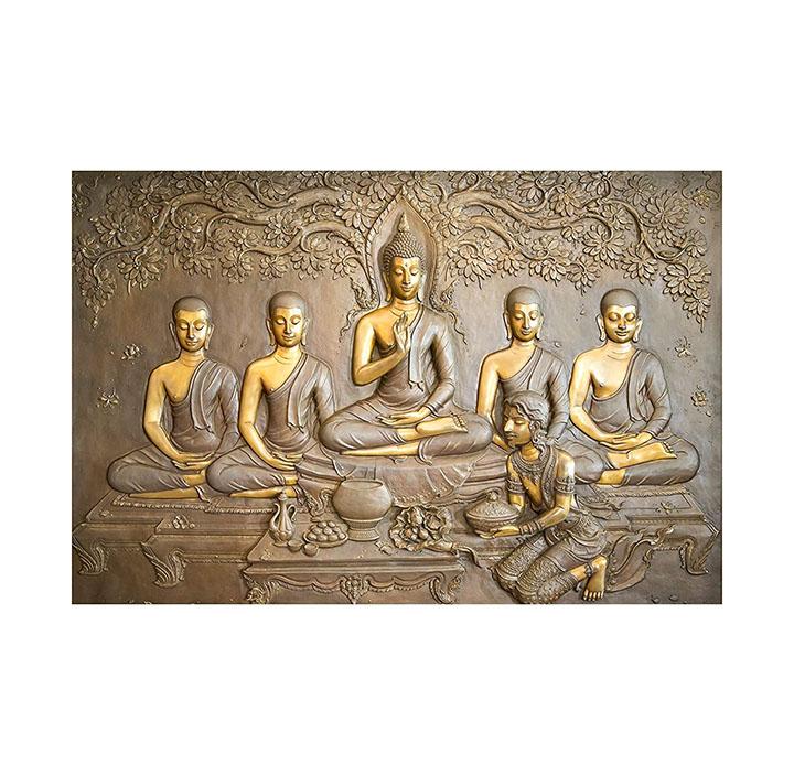 decor production lord buddha 3d wall sticker