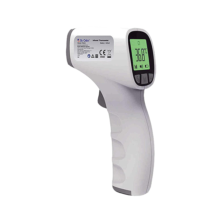 dr odin multi function non-contact forehead infrared thermometer
