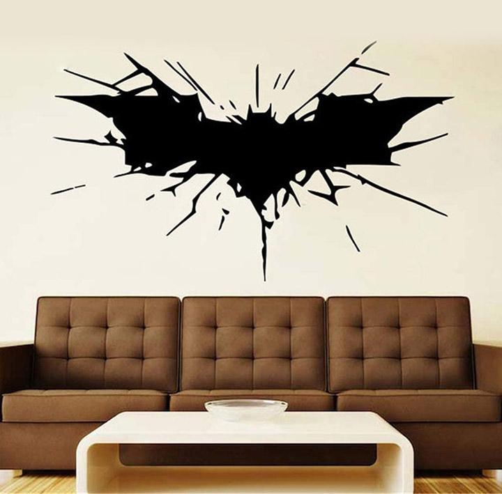 gadgets wrap batman wall vinyl decal comics superhero wall sticker