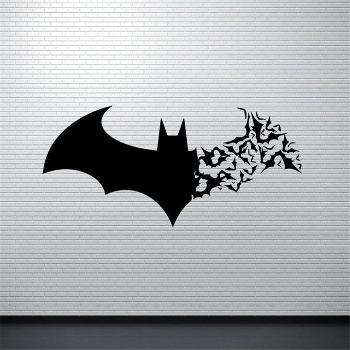 gadgets wrap cute batman superhero wall sticker
