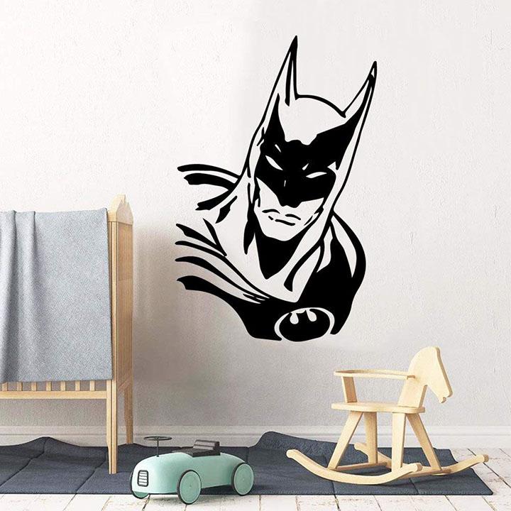 gadgets wrap fashionable batman wall sticker vinyl waterproof