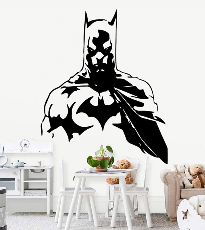 gadgets wrap superhero batman removable art vinyl wall stickers