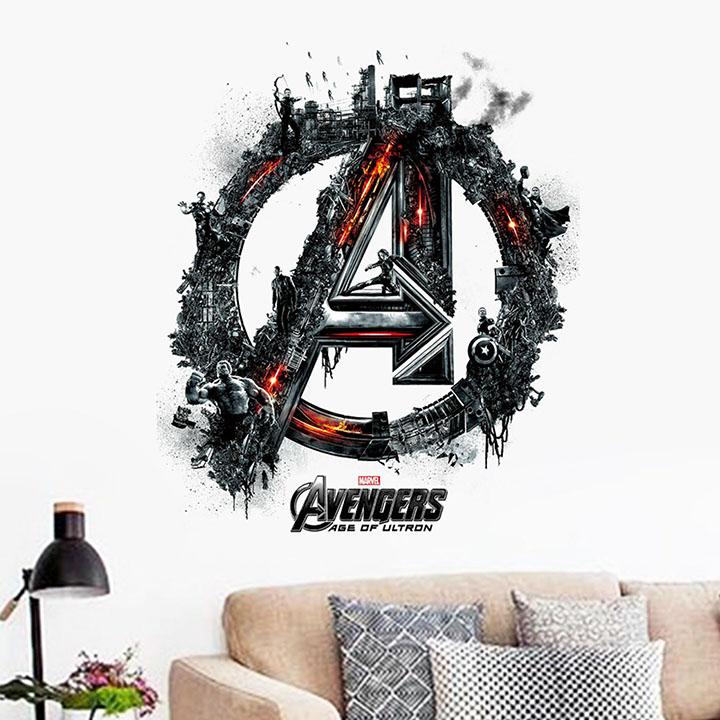 gadgets wrap the super hero figures avengers vinyl wall decals stickers
