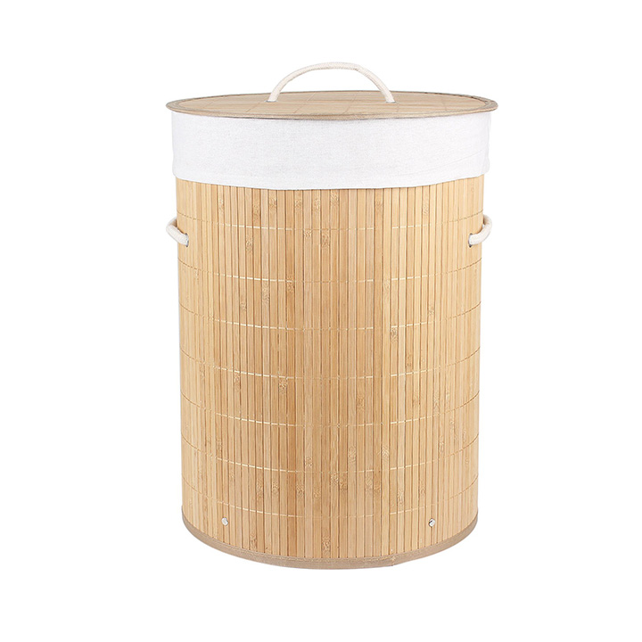 homestorie® eco-friendly foldable bamboo laundry basket