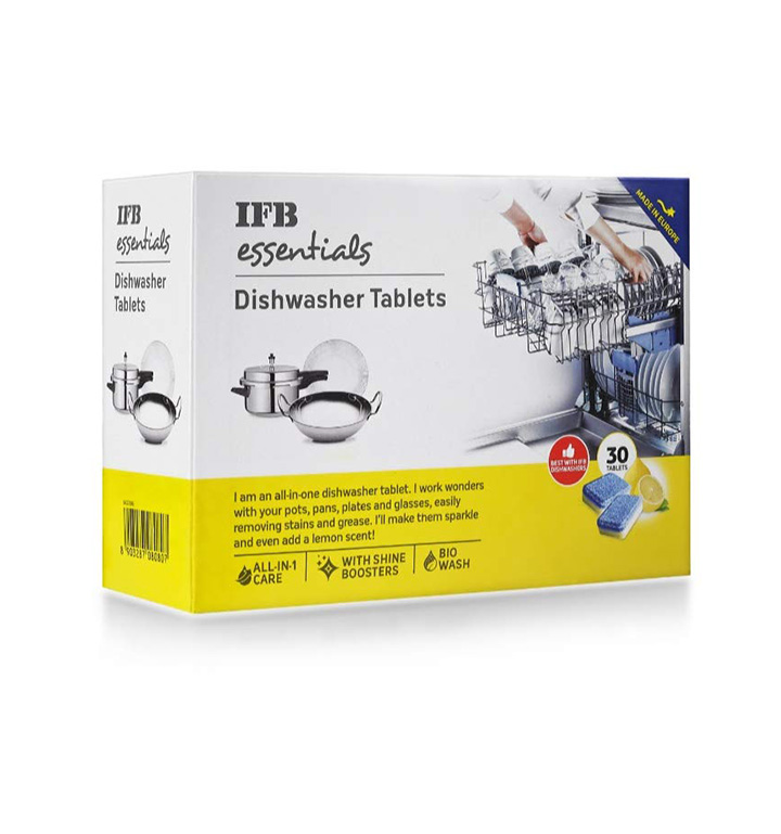 ifb essentials dishwasher tablets
