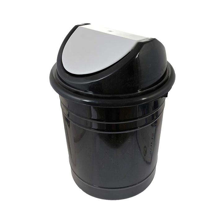 kuber industries plastic medium size swing dustbin