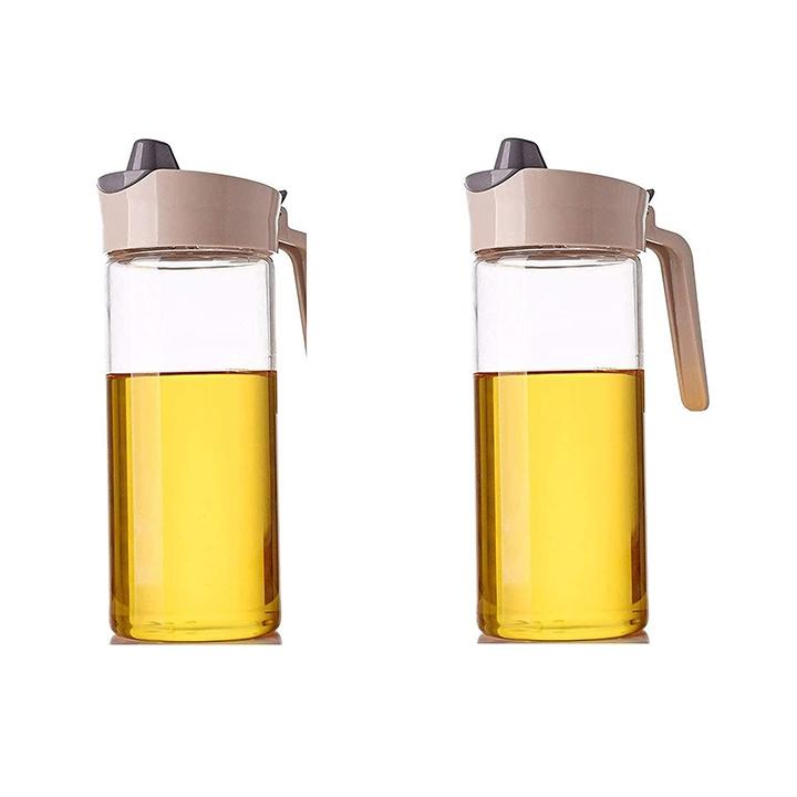 ldg ware glass oil dispenser jug