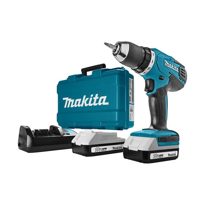 makita 13mm cordless driver drill hp457dwe