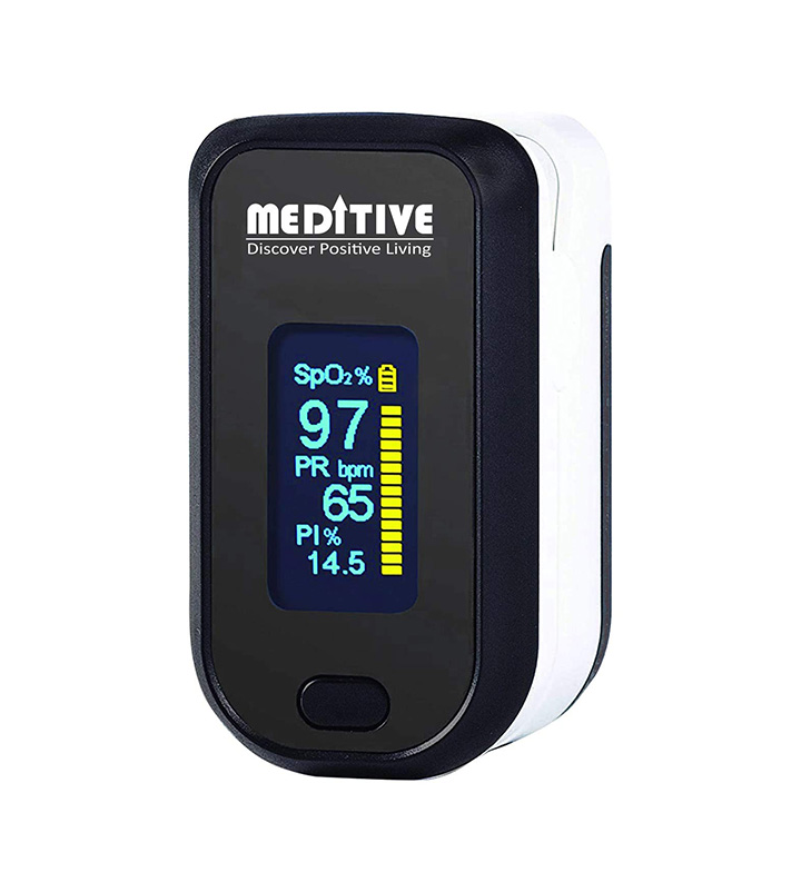 meditive fingertip pulse oximeter