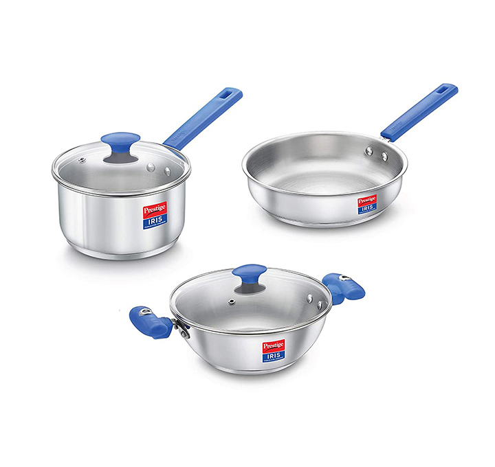 prestige platina special byk stainless steel cookware set