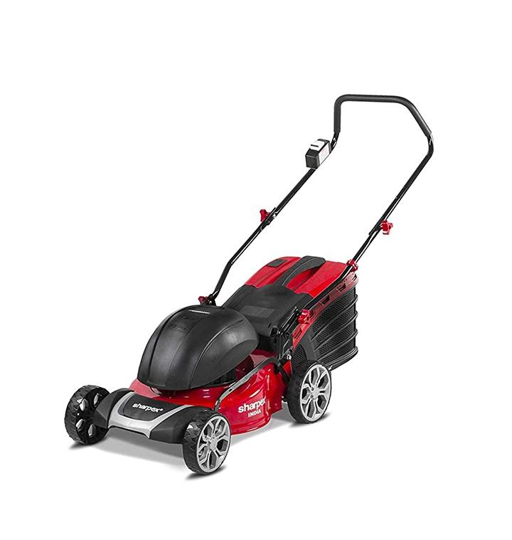 sharpex 1800 watt electric lawn mower