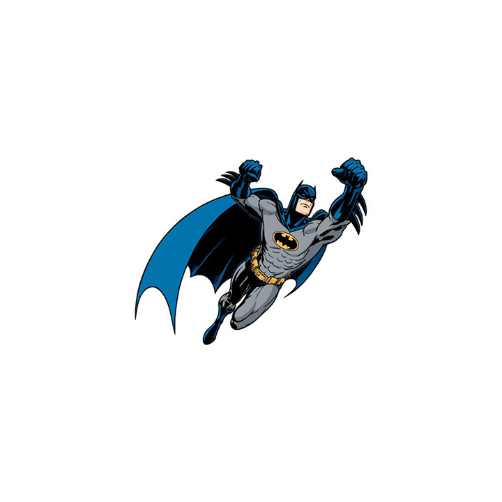 spinn decor wall decal dc comics batman medium self adhesive sticker