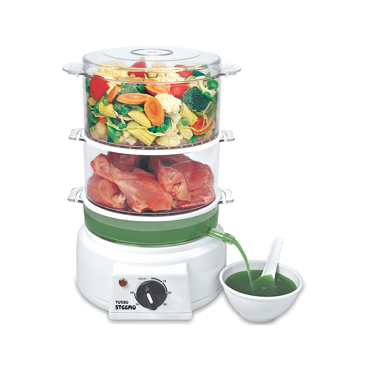 steemo multi steam cooker