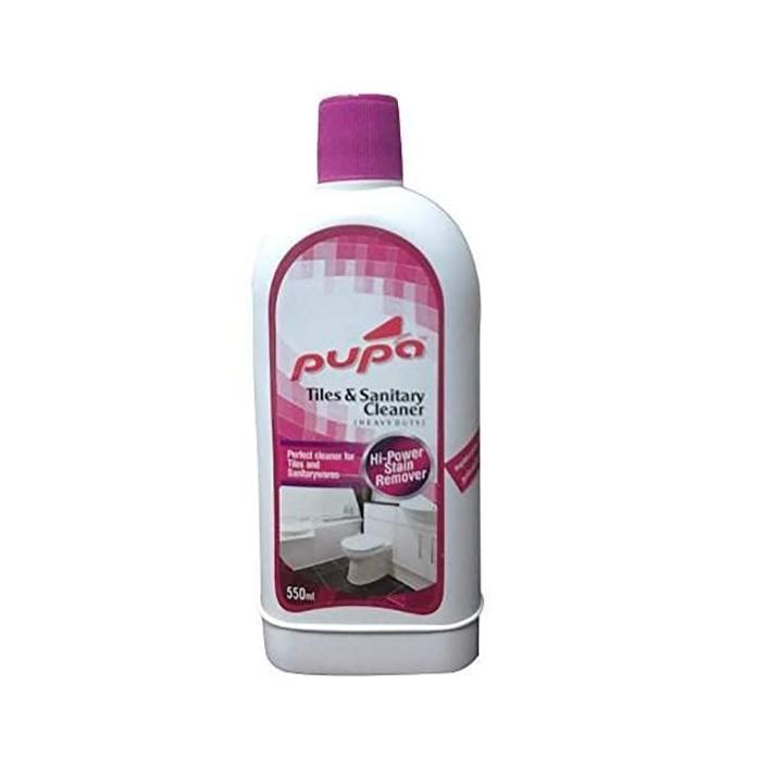 sunshines pupa pink tile cleaner