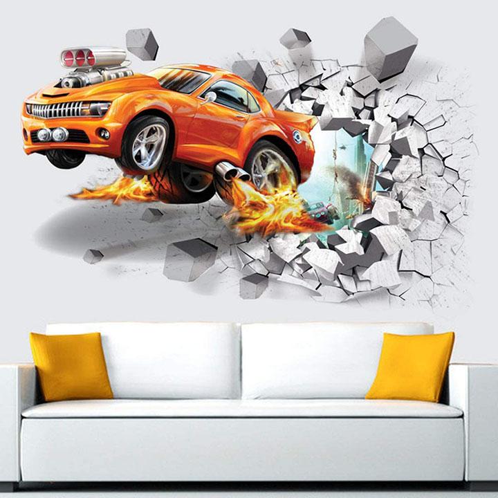 univocean vinyl pvc vehicles wall sticker