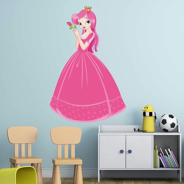 wallzone barbie doll medium vinyl wallsticker