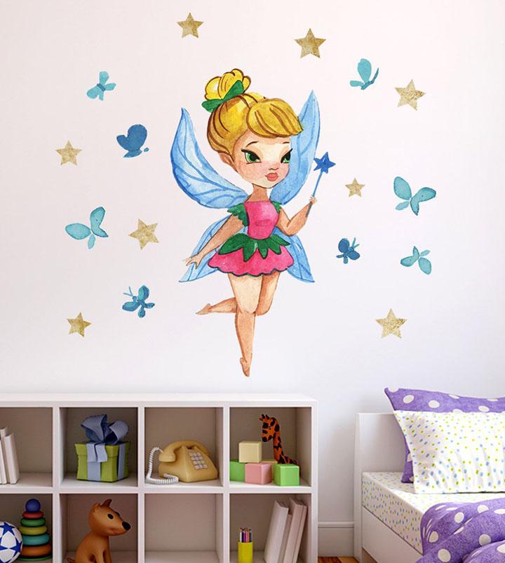 wallzone cute barbie doll