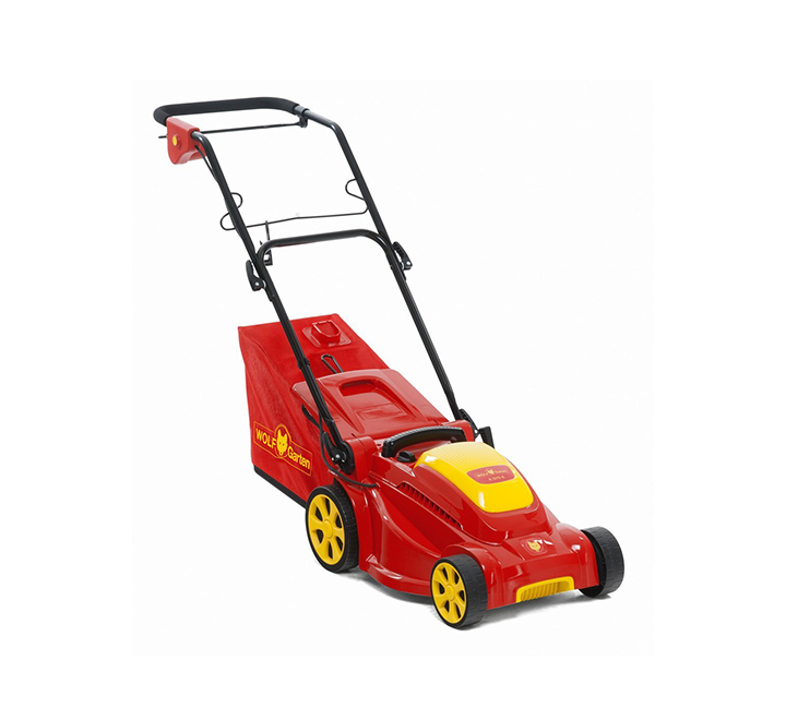 wolf-garten electric lawn mower