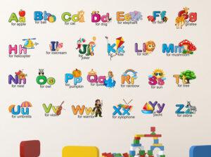 Alphabet Wall Stickers