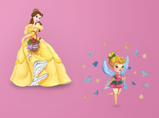 Barbie Wall Stickers