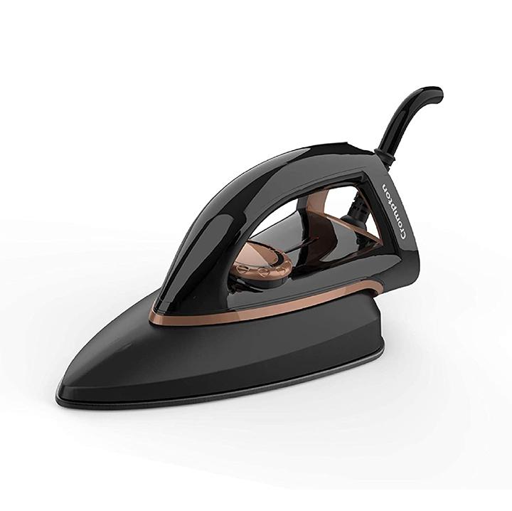 crompton instaglide 1000-watt isi certified dry iron with 6 fabric settings