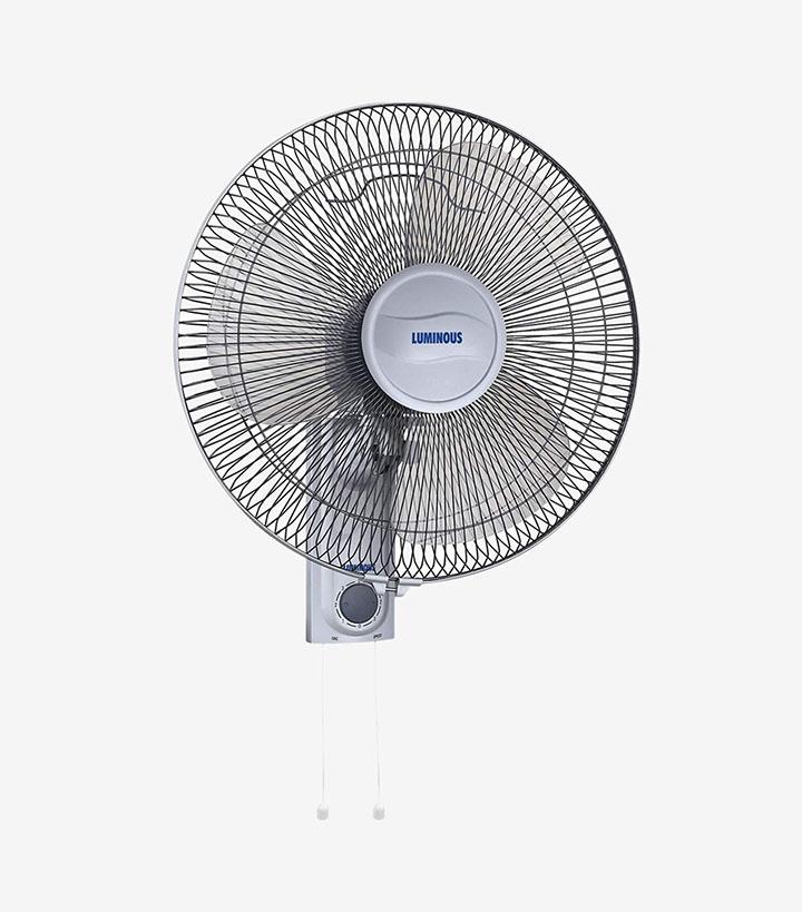 luminous fanfare 400mm wall fan