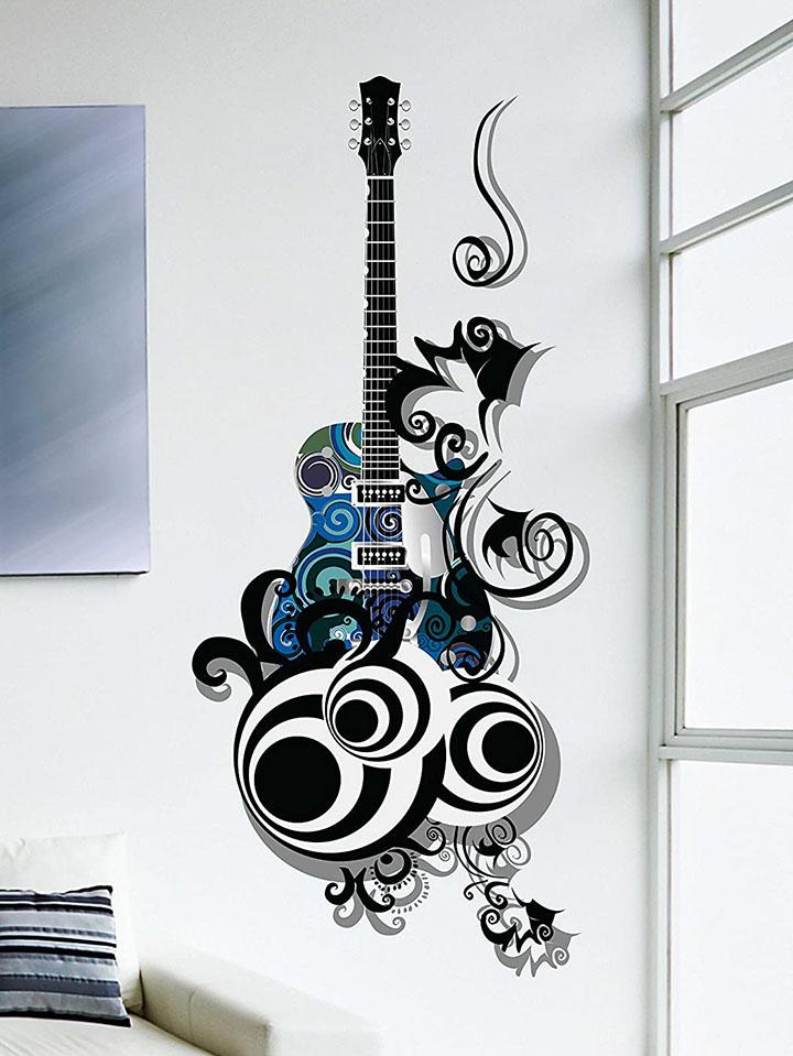 decals design guitar passion pvc vinyl wall decal