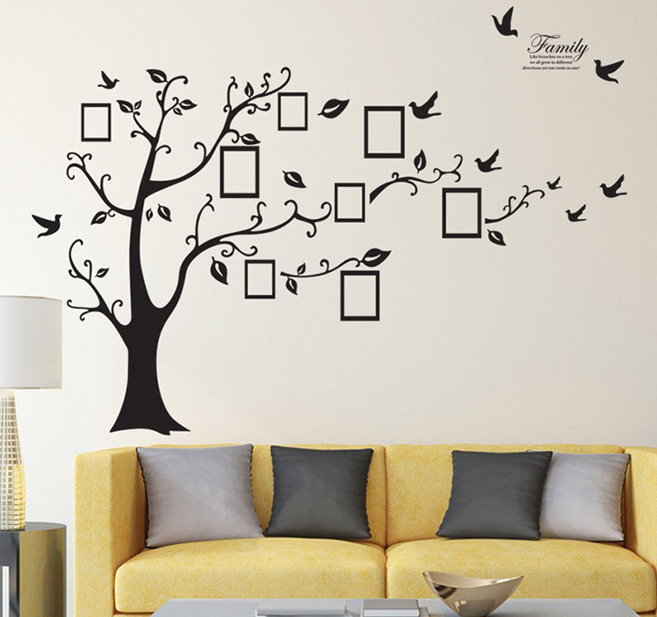 Family Tree' Wall Sticker