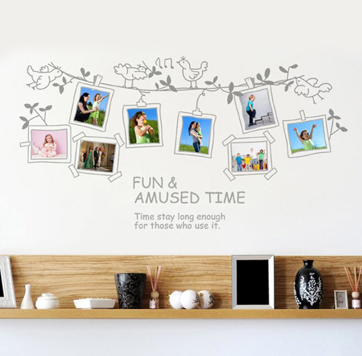 'Photo Frames' Wall Sticker