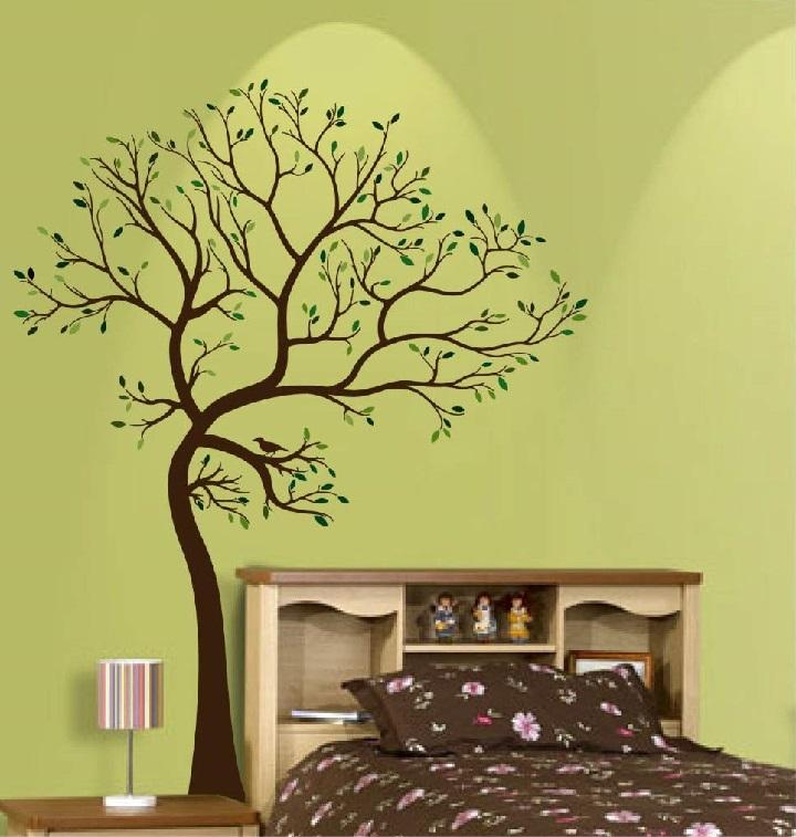 big tree wall sticker