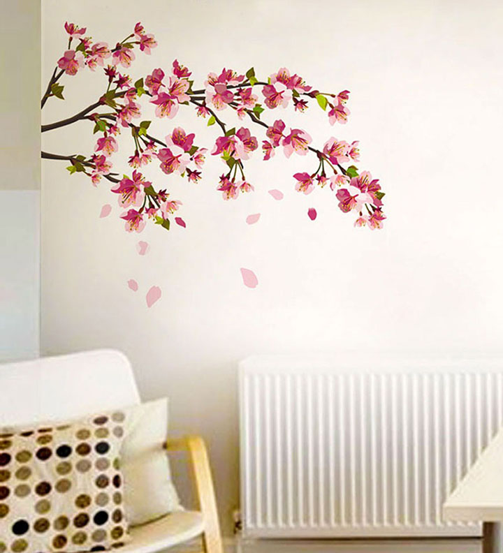 decals design 'sakura cherry blossom' wall sticker