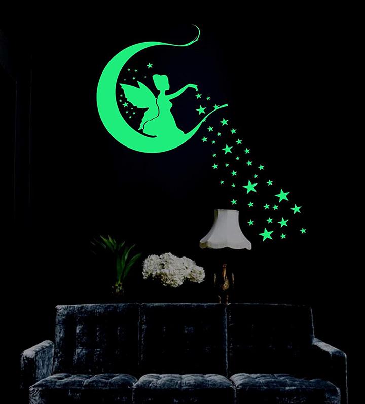 fairy with star radium night