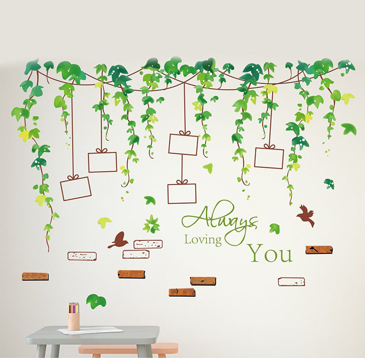 vine photo gallery wall sticker