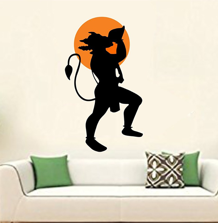 wall stickers jai hanuman