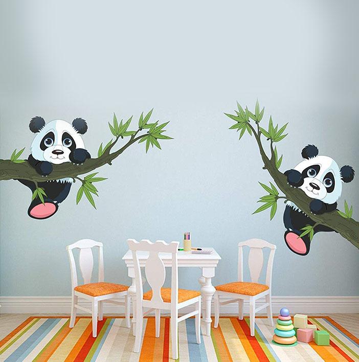 WOW Interiors PVC Animals Wall Sticker