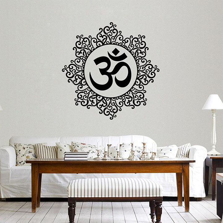 Decals Design 'Designer Om' Wall Sticker