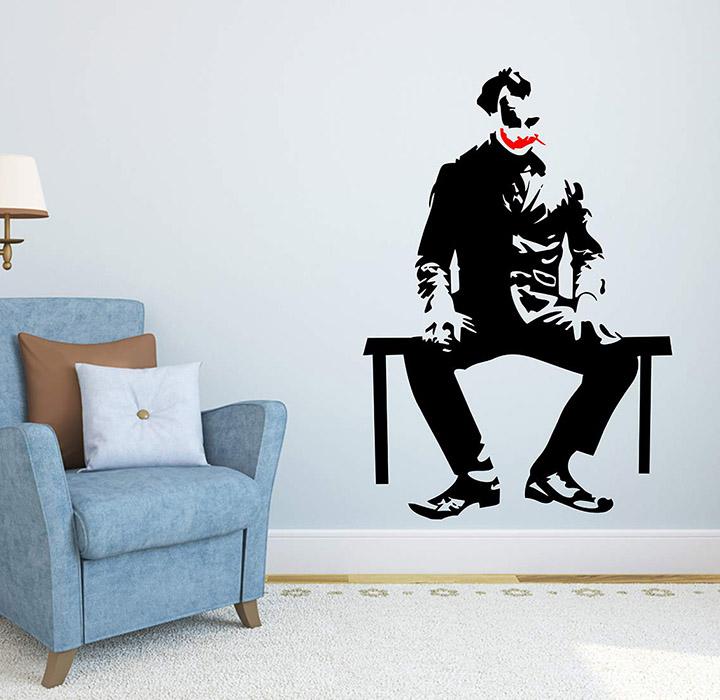 Wallstick Joker wallstickers