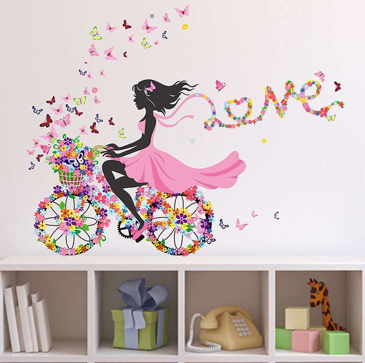 Wallstick 'Love Color' Wall Sticker