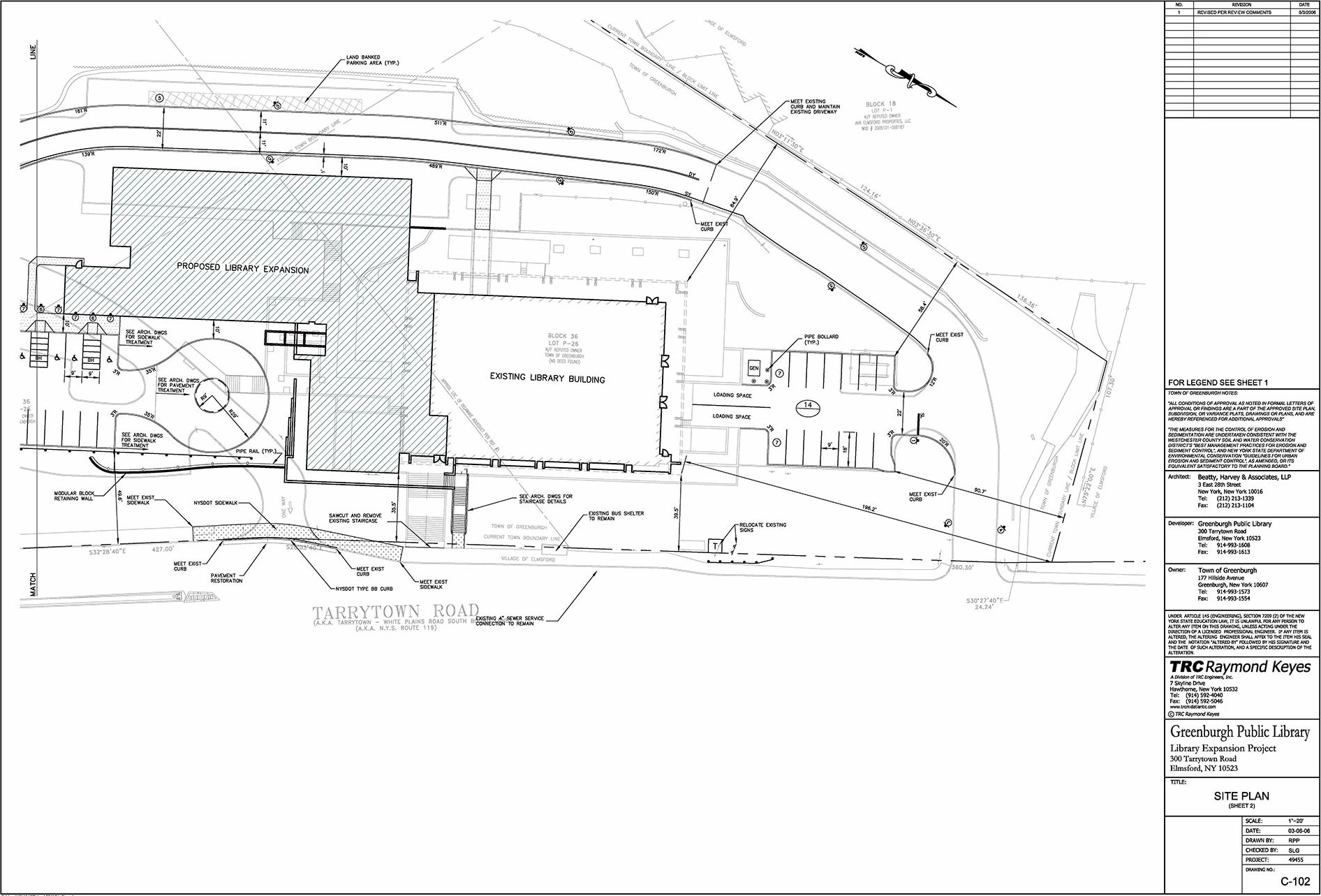 plans of greenburgh public library