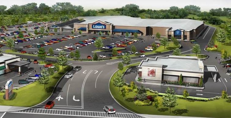 Construction Underway For New Lowe's Project In Yorktown