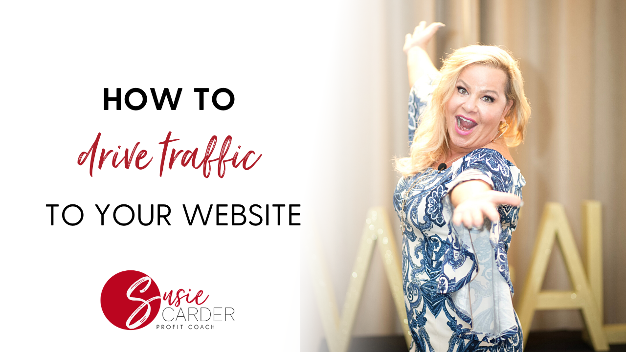 how to drive traffic to a website