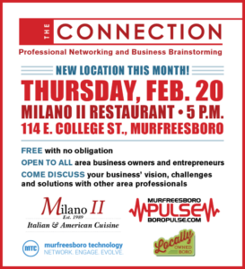 The Connection Sponsored by Murfreesboro Tech Council